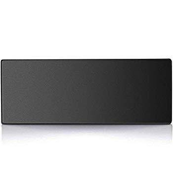 MROCO Extended Gaming Mouse Pad with Stitched Edge, Non-Slip Rubber Base, Premium-Textured, Waterproof Mousepad Keyboard Pad Mouse Mat Mouse Pads for Computer, Laptop, Desktop, 31.5x11.8x0.12in, Black Malaysia