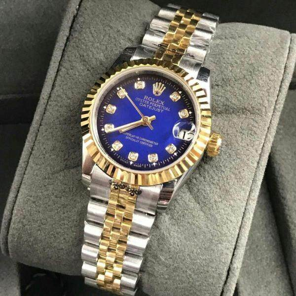 Rolex_34mm Busines Datejust Fully Automatic Women Watch Unique Good Looking Design New Arrival Date Display Free Genuine Gift Box Malaysia