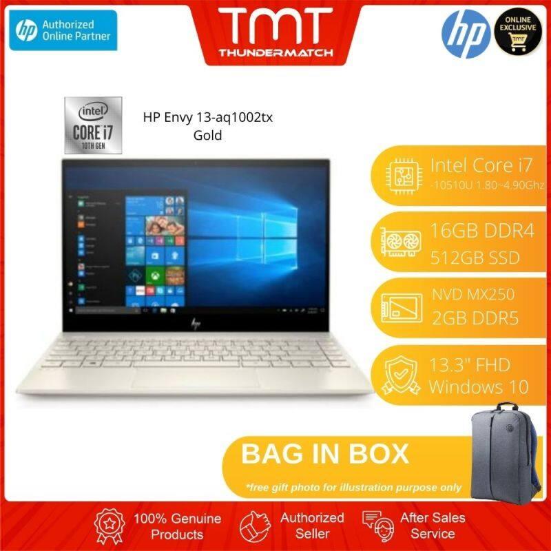 HP Laptop Envy 13-AQ1002TX Gold Malaysia