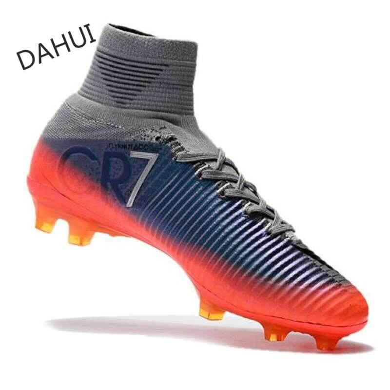 7cbf3d4c4 Arrival Victory Men s Soccer Shoes FG Soccer Shoes High-top Soccer Shoes  AMercurrial Superfly Men s