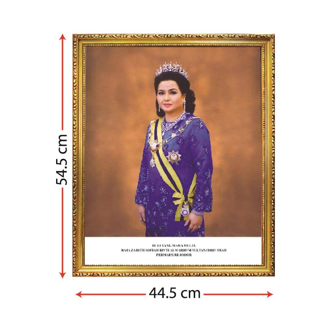 Bingkai Potret Permaisuri Sultan Johor, Sultan Johor Queen Portrait