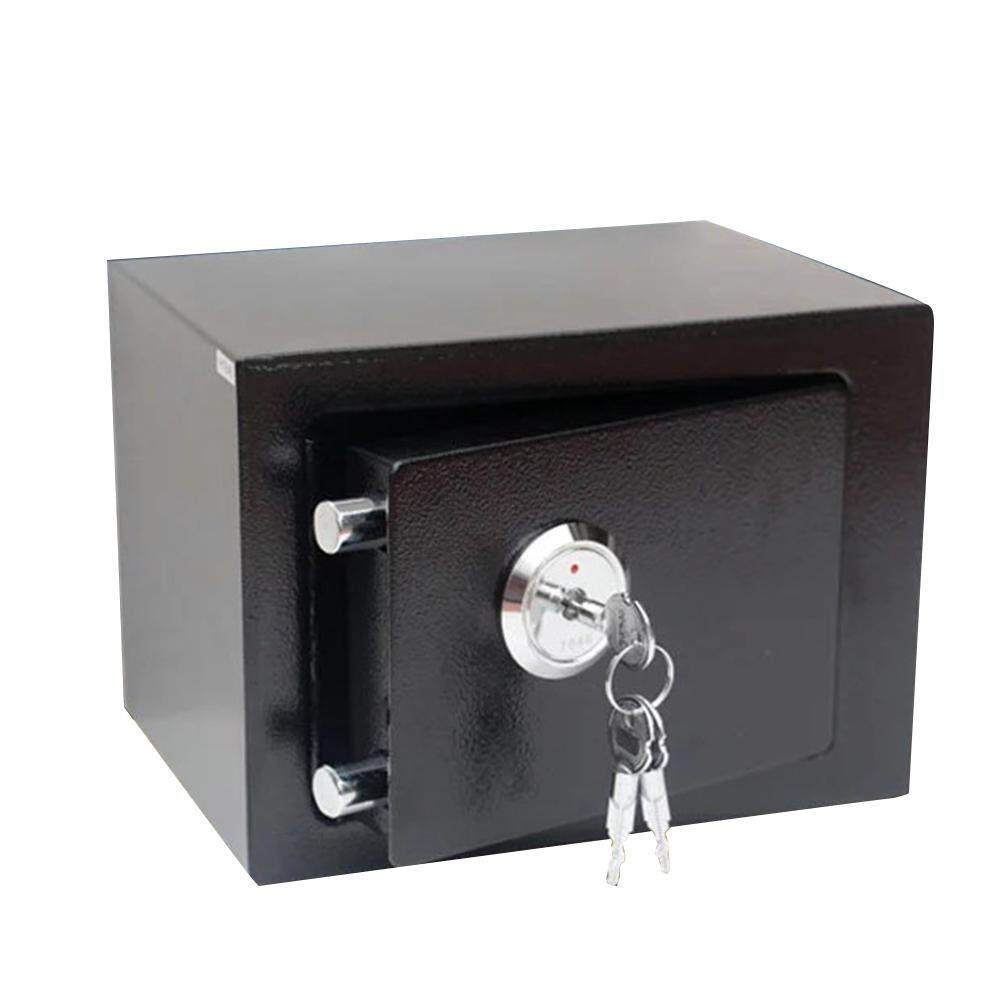 Money Deposit Key Operated Thick Jewelry Mini Wall Mounted Solid Steel Safe Box