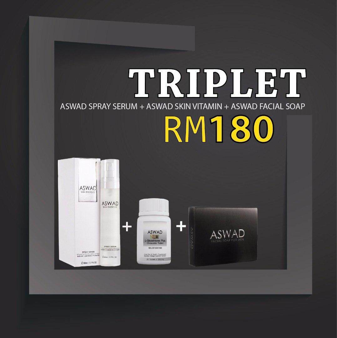 Men Skincare Aswad Facial Soap Sabun Muka Aswad Skin Serum Aswad Skin Vitamin Supplement Aswad Skincare Men Facial Soap Men Skin Serum Men Skin Supplement Men Supplment Men Vitamin Supplement By Ainiey Yusof Shop.
