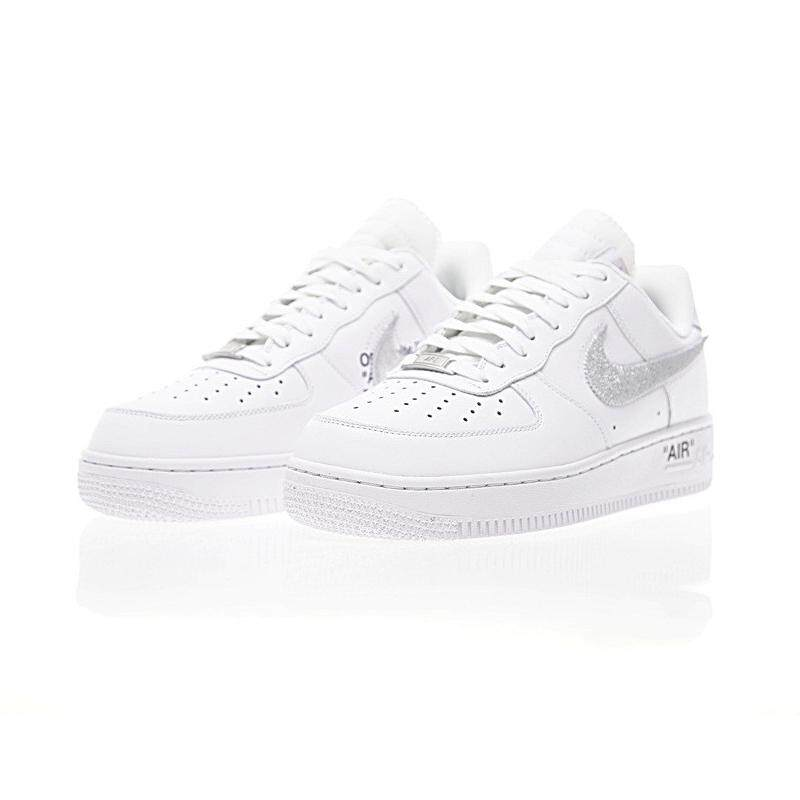 fcd601692 Original New Arrival Authentic OFF-WHITE x NKIE Air Force 1 Low Men's  Skateboarding Shoes