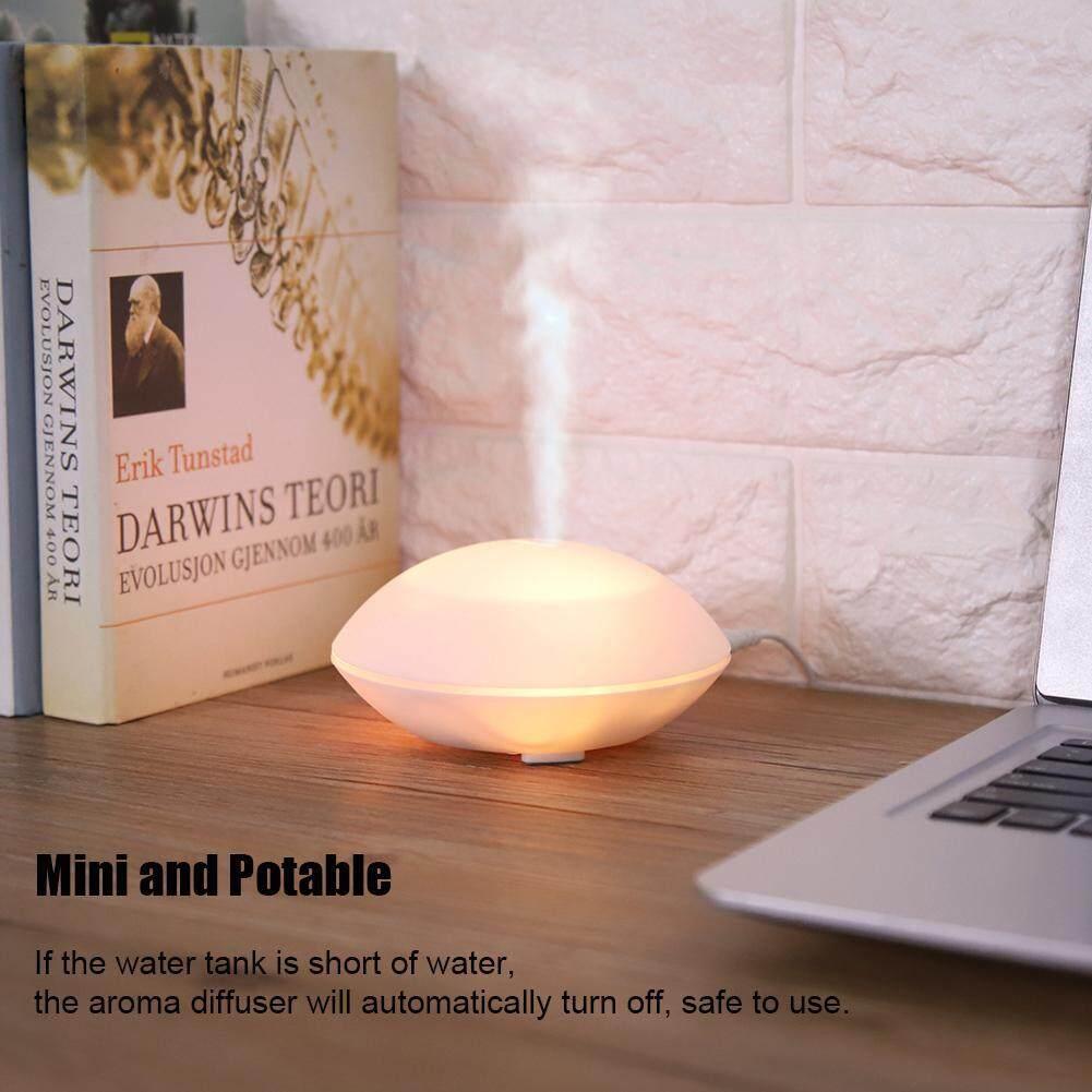 Bảng giá 【Lowest giá qua Internet】80ml USB Mini Siêu Âm Hương Thơm Khuếch Tán Tinh Dầu Tạo Ẩm LED Pat Đèn Ngủ