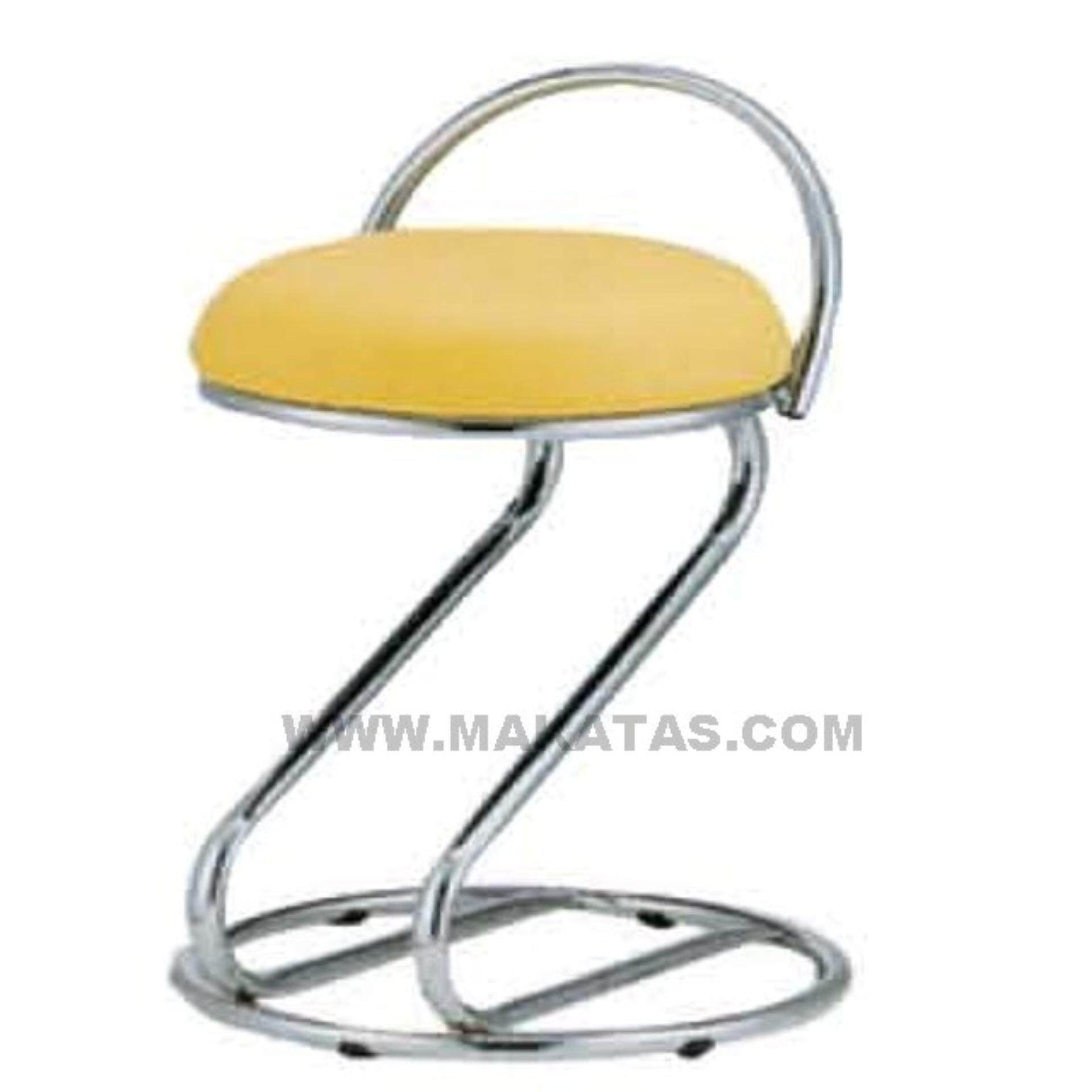 Office Furniture | Office Chair | Makatas Barstoll Low Bar Stool-Chrome