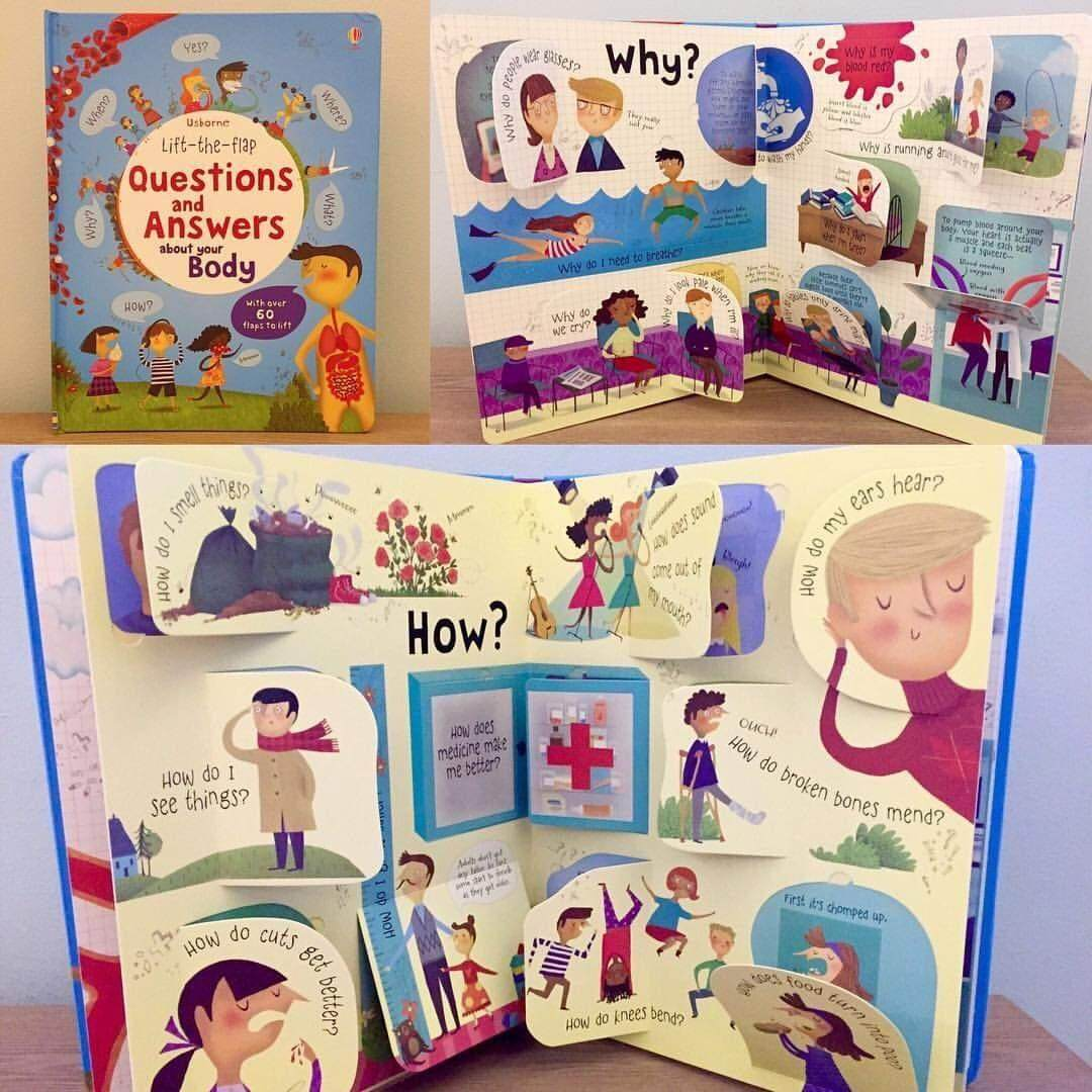 usborne questions and answers about your body