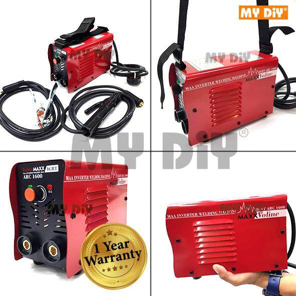 MYDIYHOMEDEPOT - VolineMaxx - Portable Mini Heavy Duty ARC160 MMA IGBT Welding Machine Weld Up To 3.2mm Rod / Portable Inverter Welding Machine Set