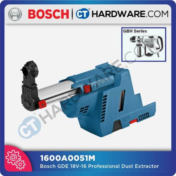 BOSCH DUST EXTRACTOR HOLE 4-16MM ONLY FOR (GDE 18V-16) SELF VACUUM (1600A0051M)