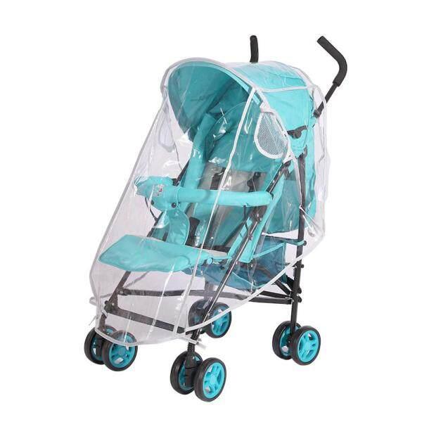 OnLook Baby Stroller Rain Cover Stroller With Zipper Umbrella Raincoat Baby Stroller Windproof Dust Cover Singapore