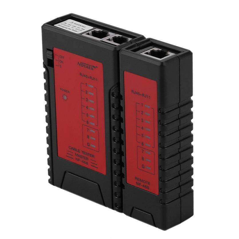 OH Ethernet Cáp RJ45 RJ11 RJ12 LAN Cáp Điện Thoại Thử Đường Dây NF-468