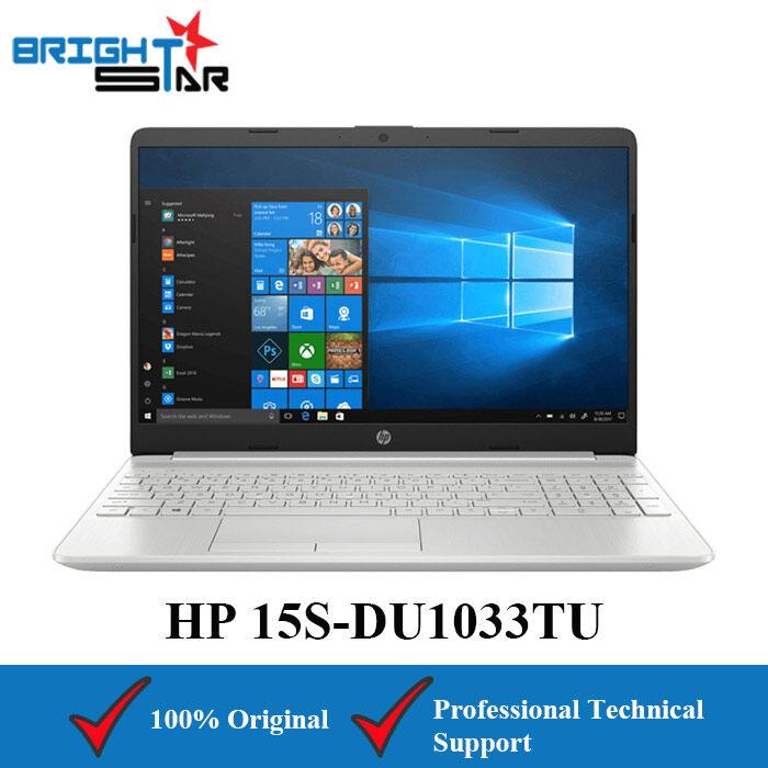 HP 15S-DU1033TU Notebook Silver (15.6inch/Intel I3/4GB/256GB SSD/Intel HD) Malaysia