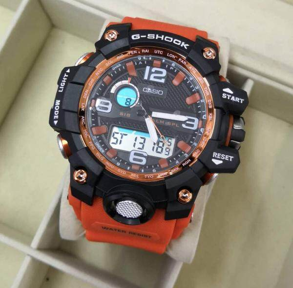 SPECIAL PROMOTION CASI0 G... SHOCK DUAL TIME RUBBER STRAP WATCH  FOR MEN Malaysia