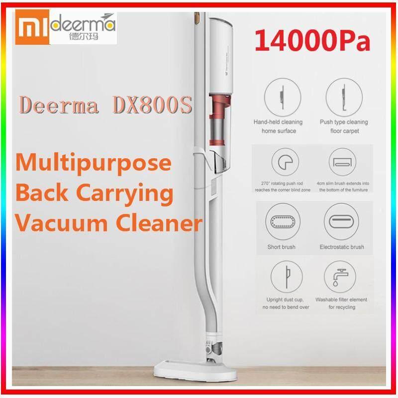 Original Xiao mi Deerma DX800S Multipurpose Double-circulation Upright Back Carrying Vacuum Cleaner Singapore