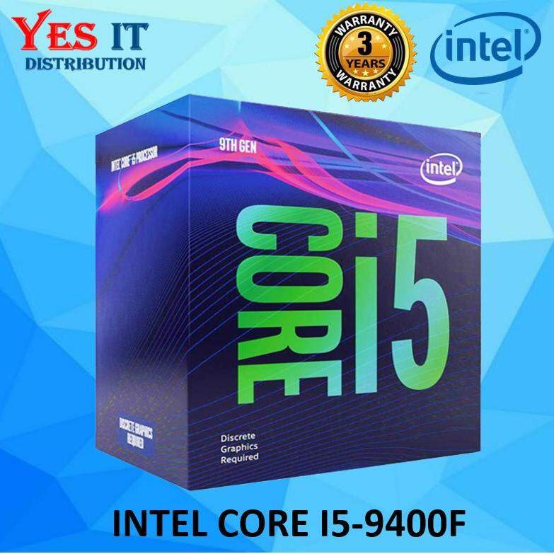 Intel Core I5 9400F LGA1151 Proccesor (6 Cores, UP TO 4 10 GHZ) I5-9400F