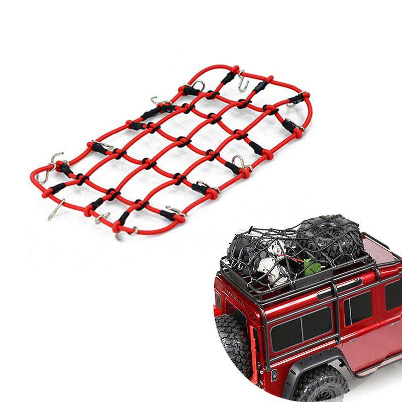1:10 RC Rock Crawler Elastic Luggage Net for SCX10 D90 RC Rock Car Accessories Cars & Motorcycles