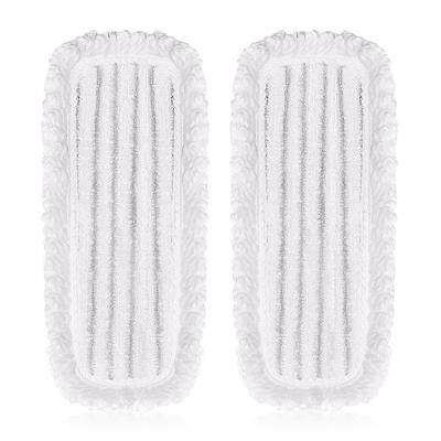 2PCS SWDK Fiber Mop for D Series Electric Floor Cleaning Machine (WHITE)
