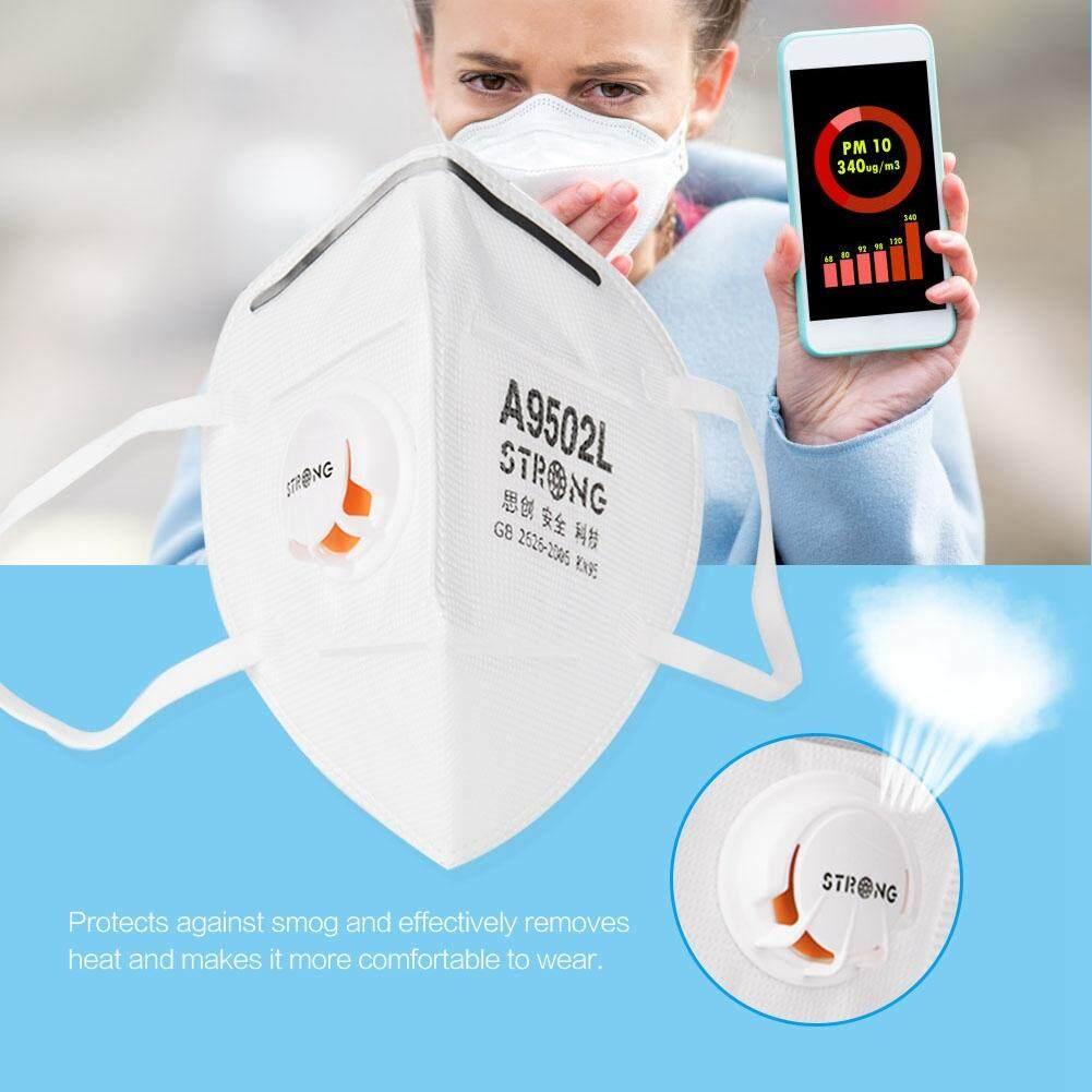Ear Wear Mask Dustproof Disposable Non-toxic Mask with Exhalation Valve Unisex Anti-fog