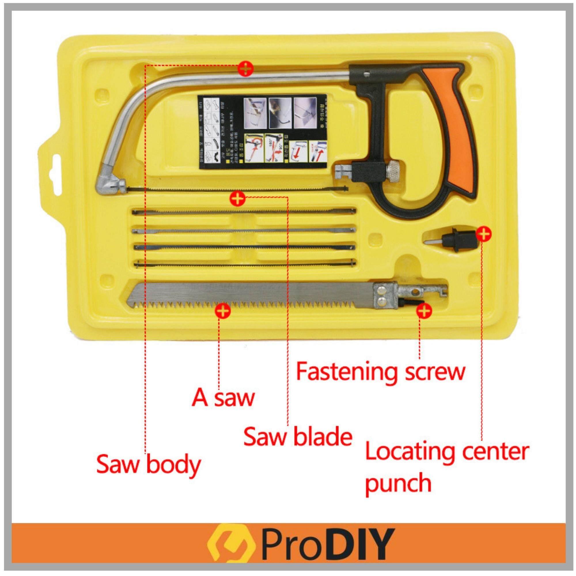 8 in 1 Multifunction Mini Saw Hacksaw Hand Saw Magic Saw Wonder Saw Hand Diy Home Tools Kit