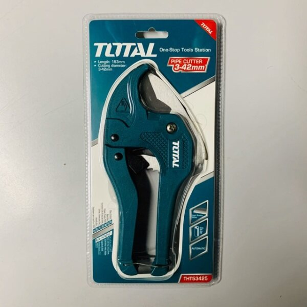 [100% ORIGINAL] TOTAL HEAVY DUTY PVC PIPE CUTTER - 42MM (THT53425)