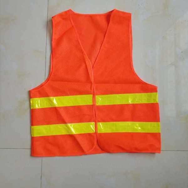 Factory direct reflective vest sanitation reflective vest car traffic low elastic warp-knitted reflective clothing wholesale custom (Ale2224566)