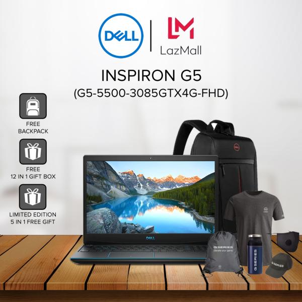Dell Inspiron G5 5500 (G5-5500-3085GTX4G-FHD) 15.6 FHD Gaming Laptop ( i5-10300H, 8GB, 512GB SSD, GTX1650Ti 4GB, W10 ) Malaysia