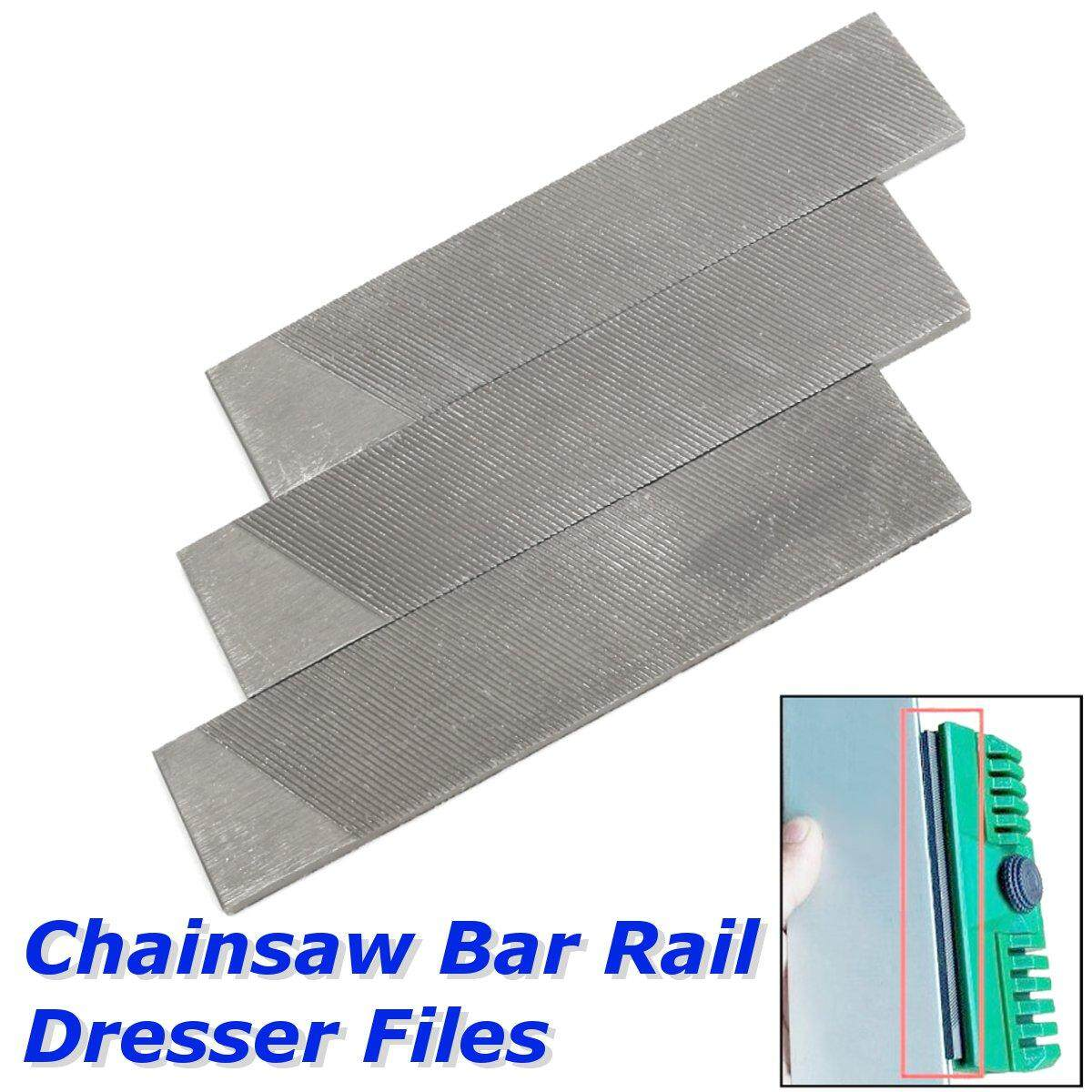 3pcs General Chainsaw Bar Rail Dresser Files for Oregon for Stihl Saw Chain