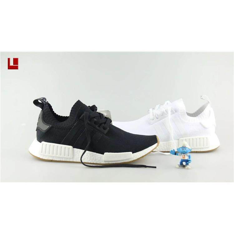 2dc171f0e Ready Stock 4color ori Adidas NMD Boost R1 PK Running shoes Women Men  Sneakers