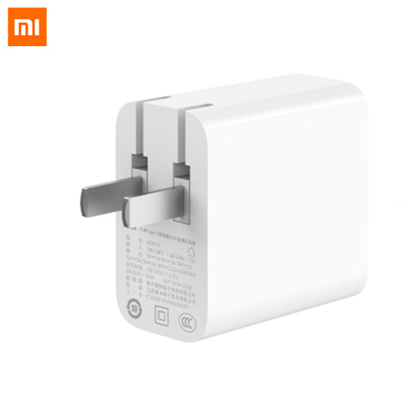 Xiaomi Type-C USB-C Power Adapter 65W Fast Flash Charging Version Anti-static Low Electromagnetic Interference Multiple Safety Protection For Laptops/ Mi Phone 10 Pro Power Adapter