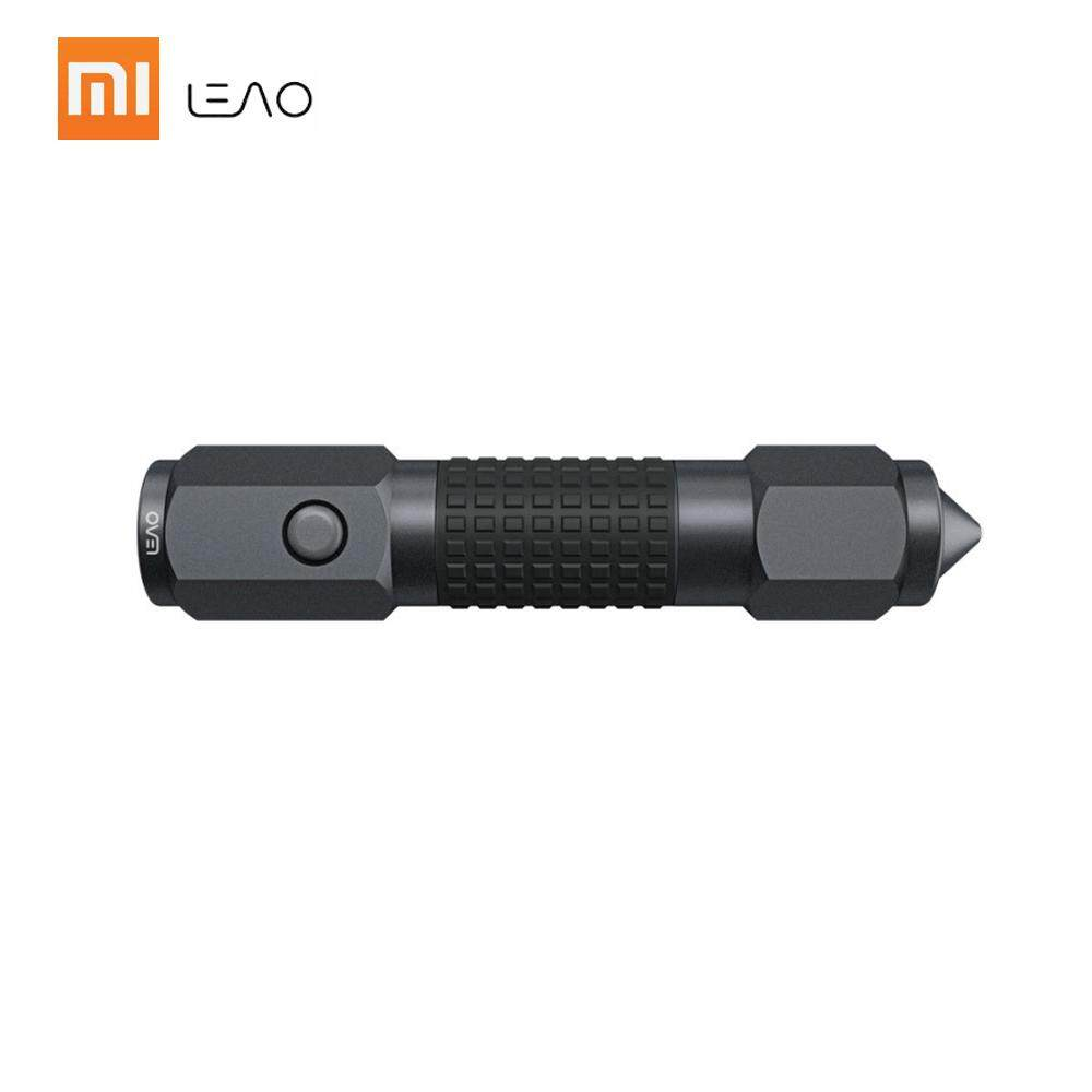 Xiaomi Leao Car Safety Hammer Flashlight Multi-Function Car Emergency Tools Electric Torch Seat Belt Cutter Outdoor Waterproof Life Saving