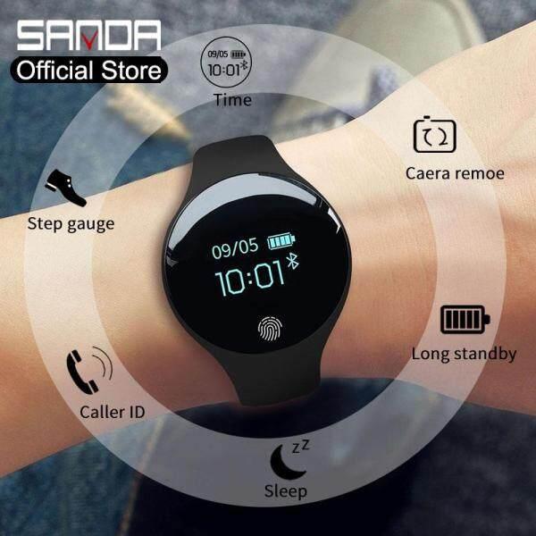 Nơi bán Đồng Hồ Thông Minh SANDA Cho Nam Nữ, Màn Hình LED, Kỹ Thuật Số, Đa Chức Năng, Thời Trang, Thể Thao, Đếm Bước Chân, Kết Nối Bluetooth, Dành Cho IOS Và Android