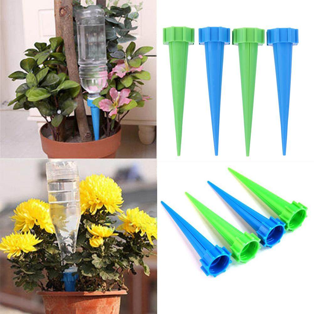 Eshopdeal 8pcs  13.5cm Automatic Watering Irrigation Spikes Drip Sprinkler Watering Kits Plant Self Watering System for Garden Plant Flowers (Random Color)