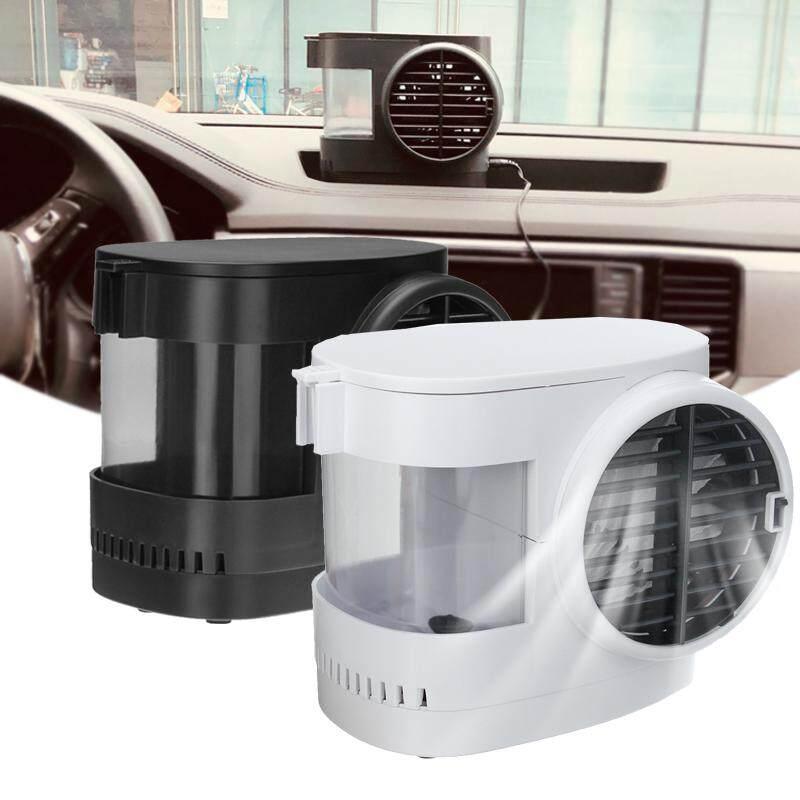 【Free Pengiriman + Tawaran Kilat 】Mini Desktop Air Evaporator Fan Humidifier Pendingin Portable Kecepatan Conditioner Baru (2 Warna untuk Pilihan)