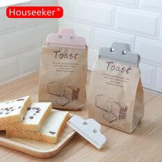 Houseeer Thực Phẩm Gia Dụng Snack Niêm Phong Kẹp Niêm Phong Kẹp Túi Thực Phẩm Công Cụ Lưu Trữ Nhà Bếp