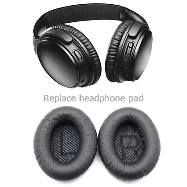 1 Pair For Bose QC35 QC35 I QC35 II Replacement Headphone Ear Pads Cushion Cover Headphones Supplies Singapore