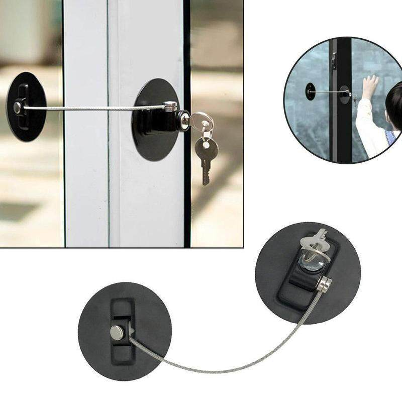 diameter 80mm Child safety lock refrigerator lock multi-function window lock no need for punching baby safety protection