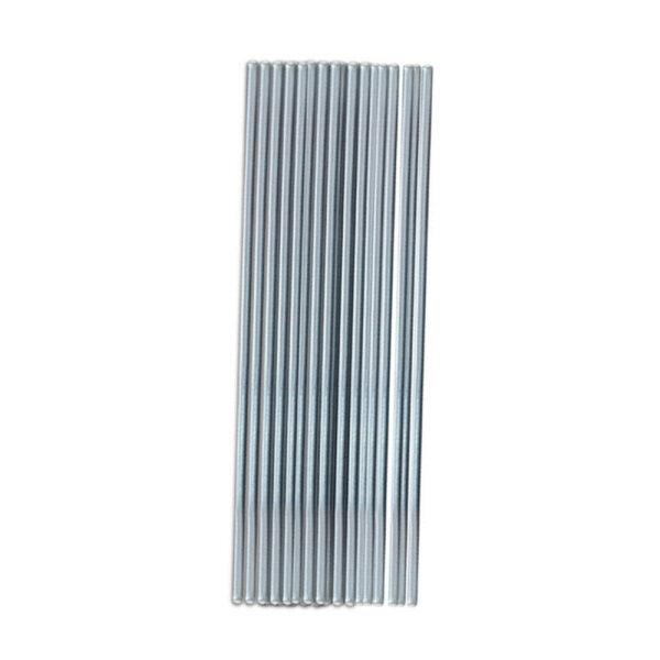 50Pcs 33cm 1.6mm Low Temperature Aluminum Welding Solder Wire Brazing Repair Rods for Metal Steel Alloy