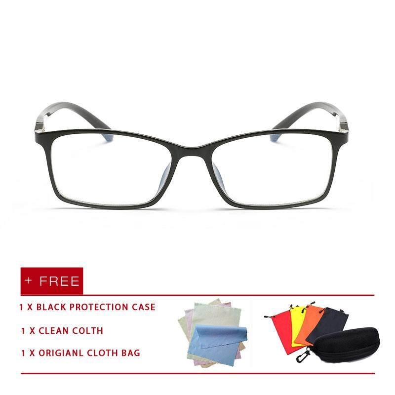 9e30c5c254f 2018 New fashion men women reading eyewear eyeglasses Anti Blue Light  Glasses UV Spectacles flat lens