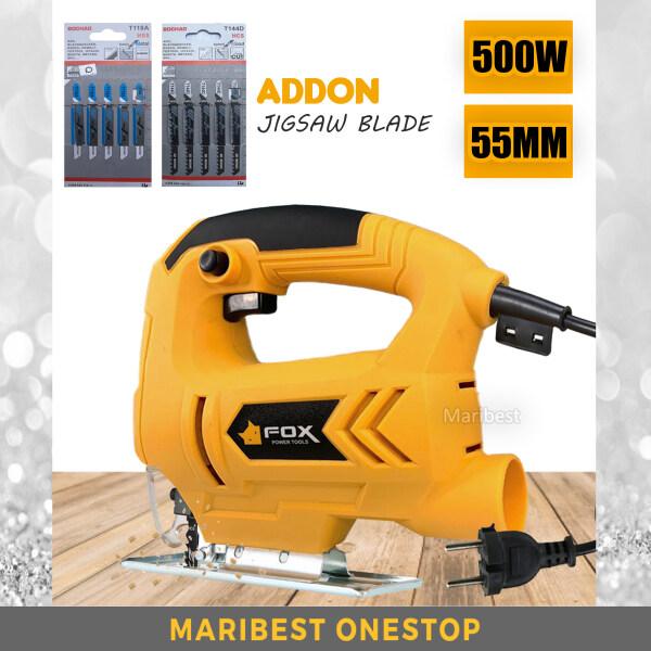 [ FOX-055 ] Electric Jig Saw 500W High Speed Cutter Machine Bevel Cut 0°-45°