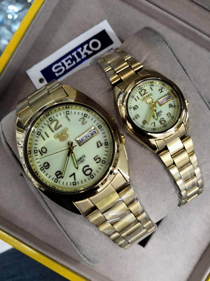 [ADVANCE GUALITY] SEIKO5 Couple Watch Malaysia