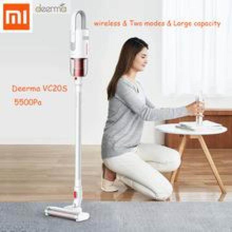 【100% Original】New Xiao mi Deerma VC20 Vacuum Cleaner 5500 Pa Car - Vertical Handheld Cordless Stick Aspirator Vacuum Cleaners For Home car Singapore