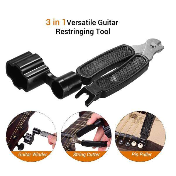3 in 1 Versatile Guitar Winder String Cutter Pin Puller for Musical Instrument Accessories Malaysia