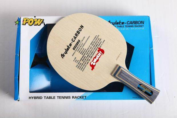 Genuine Butterfly King table tennis racket butterfly carbon floor racket 20010 pen-hold / 30041 horizontal shot