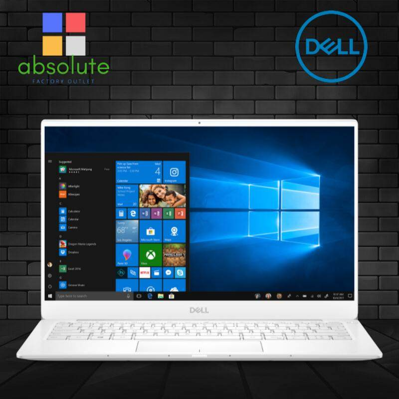 Dell XPS 13 9380 Ultrabook Laptop ( i7-8565U, 512GB PCIe SSD, 16GB RAM, 13.3 FHD,  Win10 Home, White, 1 Year DELL Warranty ) Malaysia