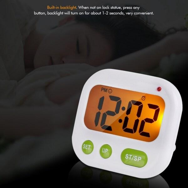 Đồng Hồ Báo Thức LED, Đồng Hồ Báo Thức Âm Nhạc/Rung, Cạnh Giường Cho Phòng Ngủ