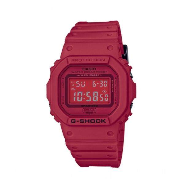 CASI0 G Digital DW5600 Red Out Petak 35th Anniversary Malaysia