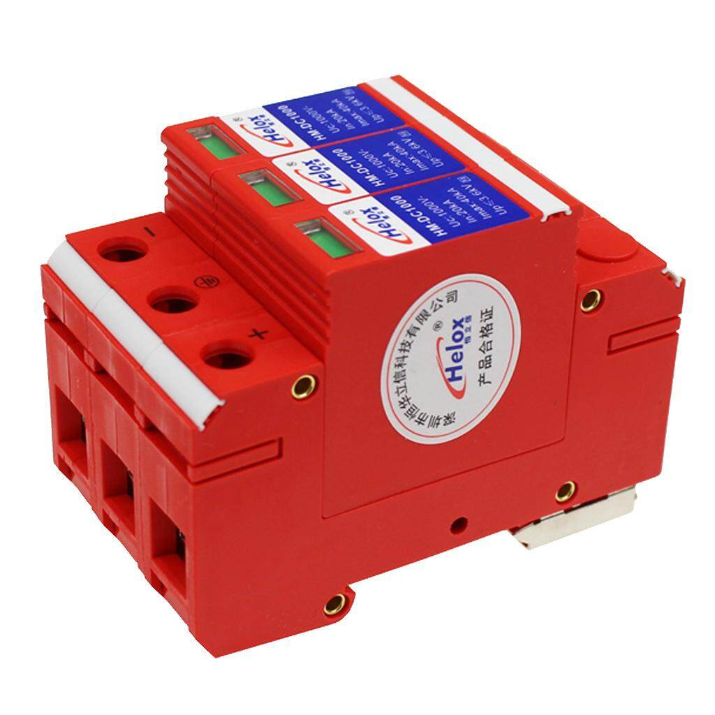 Miracle Shining Solar Power Supply Surge Protector, SPD Lightning Arrester for Solar Systems
