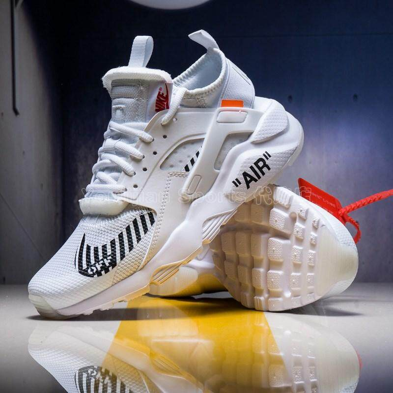 dd76bcbc72e68 NIKE men and women shoes AIRHUARACHE Wallace four generations of joint  casual couple running shoes AA3841