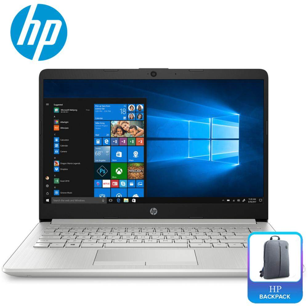 HP 14s-cf0067TU 14 Laptop Silver ( i3-7020U, 4GB, 1TB, Intel, W10 ) Malaysia