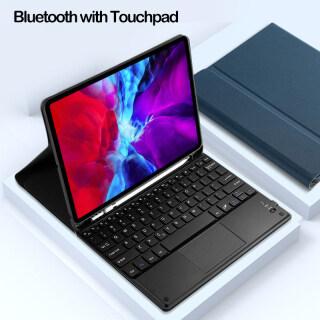 Ốp Cho iPad Pro 11 12.9 Bàn Phím Nam Châm 2020 Kèm Bàn Di Chuột, Ốp Thông Minh Cho iPad Air 1 2 3 Mini 4 5 10.5 Với Hộp Đựng Bút Chì thumbnail